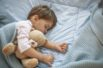 Cute little kid sleeping. Little boy sleeping in bed Cute little boy sleeping, tired child taking a nap in his small bed, clean, fresh and cozy bedding sheets, bedtime for kids